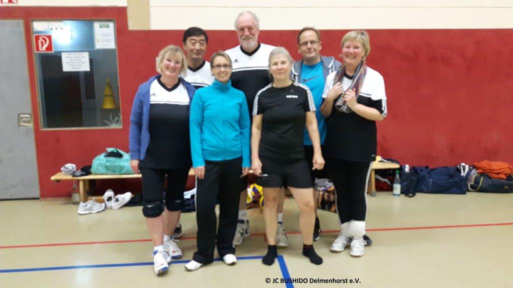 Volleyball Siegerteam